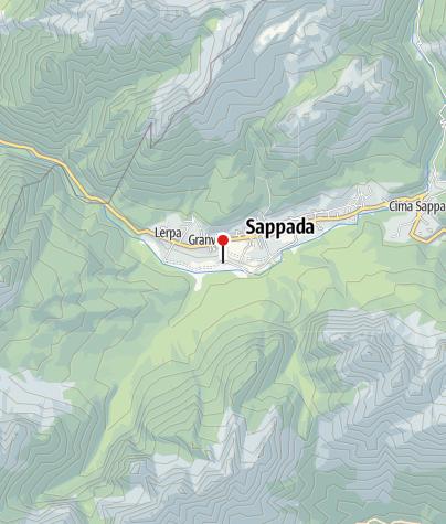 Cartina / AREA CAMPER - Sappada