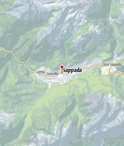 Map / Comune di Sappada