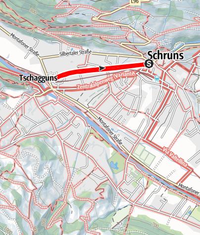 Map / Barrierefrei - Spaziergang der Litz entlang