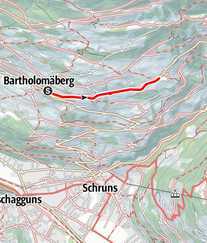 Kaart / Barrierefrei - tolle Aussicht auf dem Panoramaweg genießen