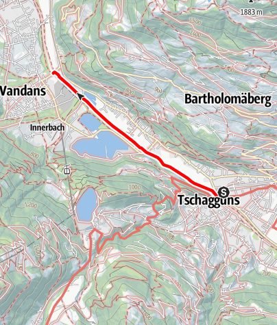Kaart / Barrierefrei - Spaziergang entlang der Ill