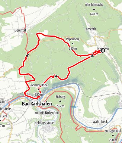 Karte / Archotrail