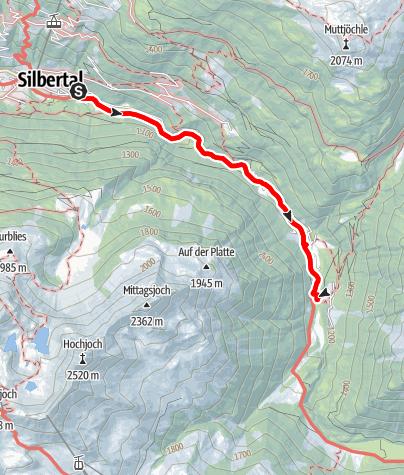 Karte / Erlebnisweg Litzbach