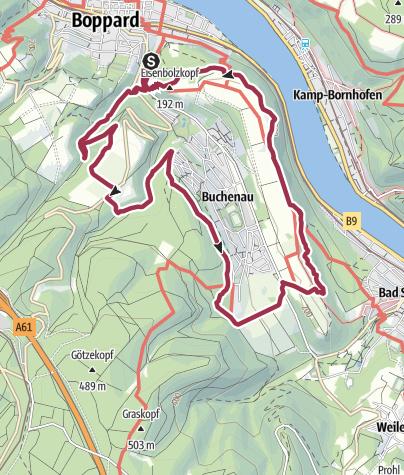 Karte / Traumschleife Marienberg