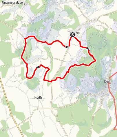 Karte / Naturbühne - Steinbruchweg in Jörgen