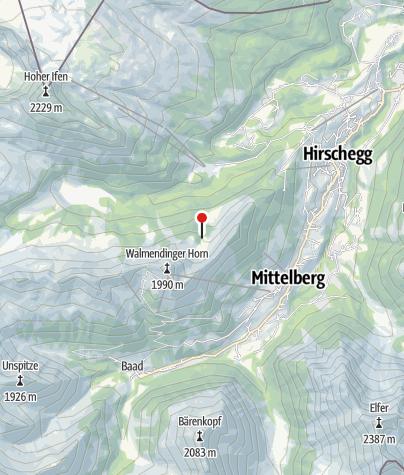 Map / Obere Walmendinger Alpe