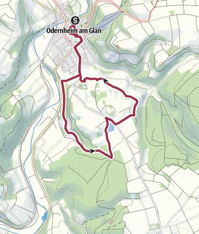 Karte / Hellersbergweg