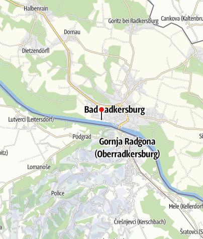 Karte / Busparkplatz
