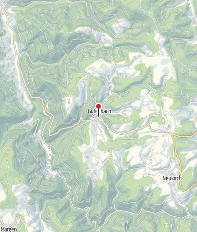 Karte / Einkehrmöglichkeit
