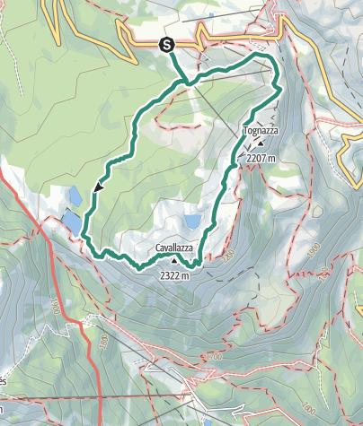 Cartina / Cavallazza