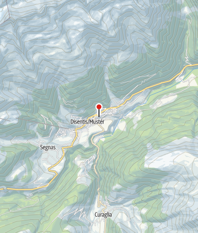 Karte / Sedrun Disentis Tourismus (Disentis)