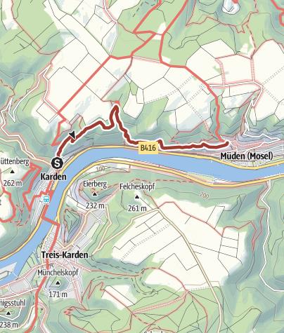 Karte / Buchsbaum-Wanderpfad