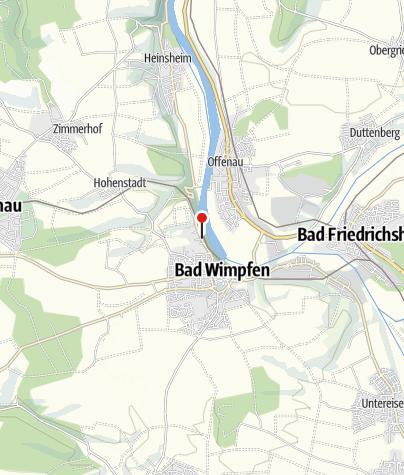 Karte / Bett+Bike Hotel garni Neckarblick***