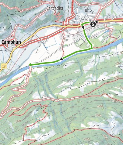 Map / Kunstweg am Rhein