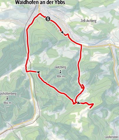 Karte / Atschreithtour