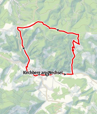 Mapa / Eselberg-Strecke