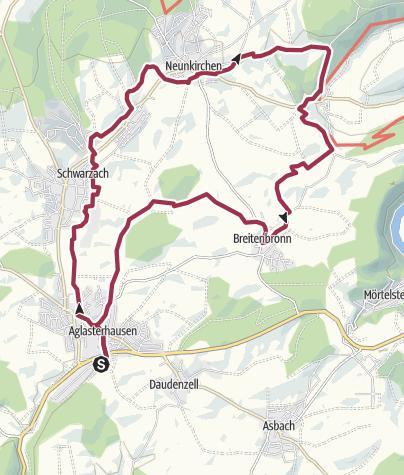 """Karte / Vielfalt im """"Kleinen"""" Odenwald"""