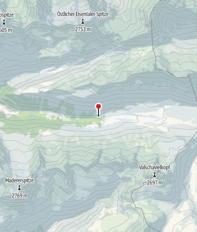 Karte / Schwarzsee in Silbertal