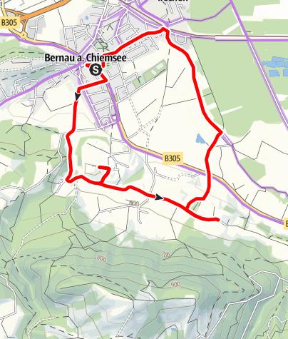 Karte / Panoramaweg Genussradtour