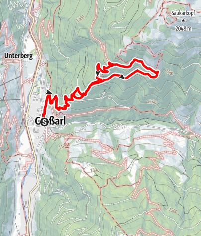 Karte / Großarl: Gerstreitalm