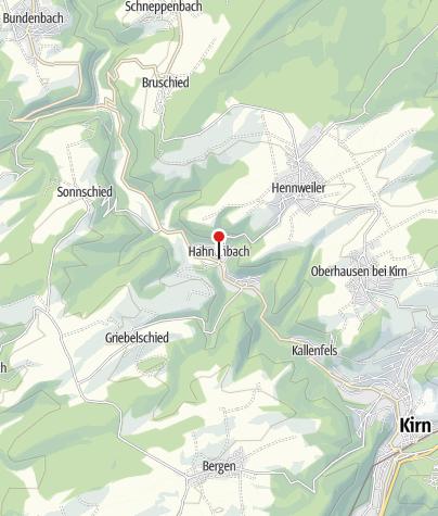 """Karte / Gasthaus """"Hahnenbachstubb"""""""