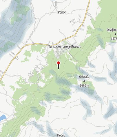 Map / Mountain hut Munika