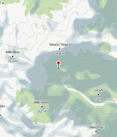 Map / Mountain hut Tise