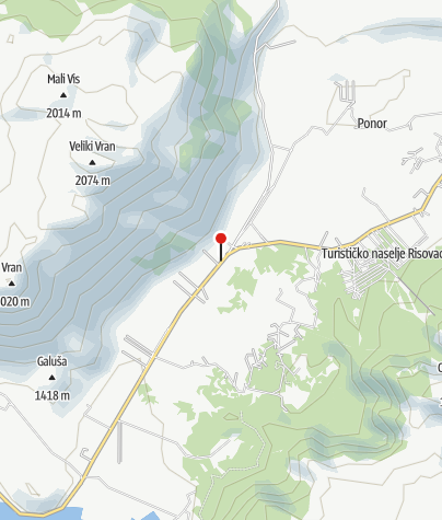 Map / Hajdučke Vrleti Motel