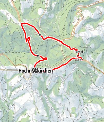 Mapa / Hutwisch - Strecke