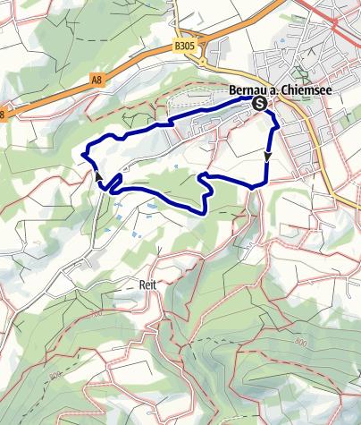 Karte / Große Hitzelsberg-Runde