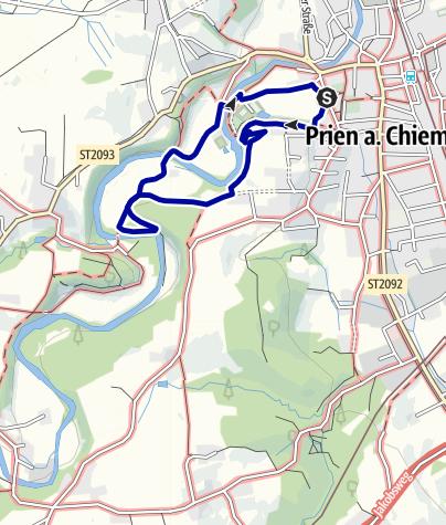 Karte / Kleine Eichentalrunde