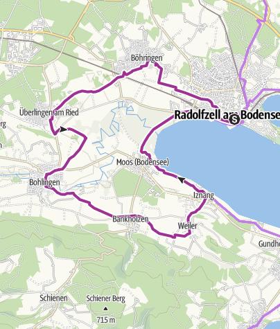 Karte / Garten-Rendezvous Radolfzell und Aachried