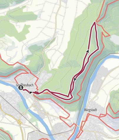 Karte / Wandern in Großheubach (3)