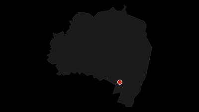 Karte / Spree-Radweg - Von der Quelle bis zum See