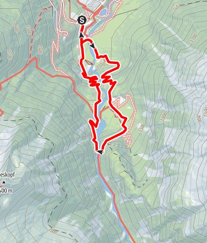 Kaart / Krimmler Wasserfälle