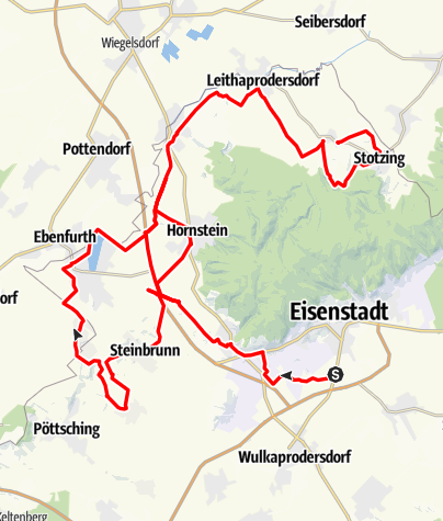 Karte / Leitharadweg