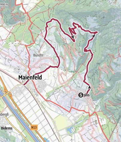 Karte / Heidialp