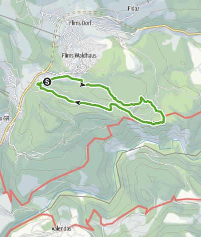 Karte / 659 Senda Ruinaulta