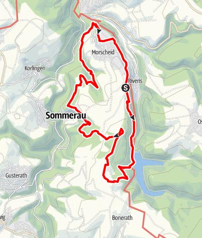 Karte / Traumschleife Morscheider Grenzpfad