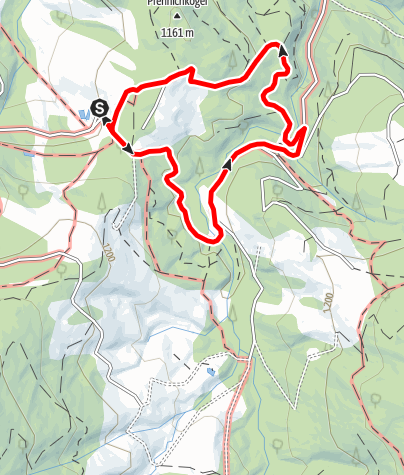 Karte / Spazierweg 3 in Modriach-Winkel