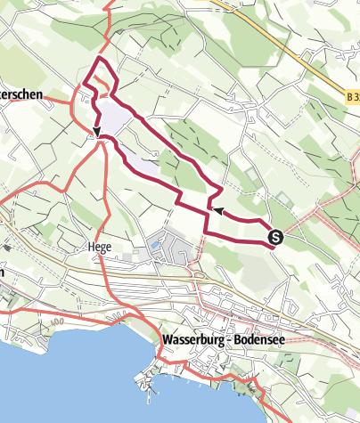 Karte / Streuobstwanderweg Wasserburg - Obstbau im Wandel am Bodensee