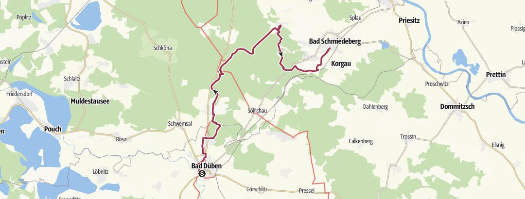 Static Map Heide-Biber-Tour