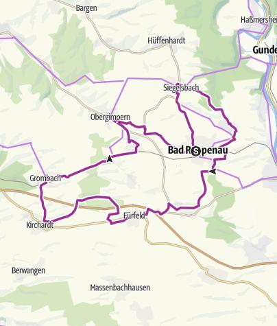 Karte / KR4 Kraichgauer Entdeckertour