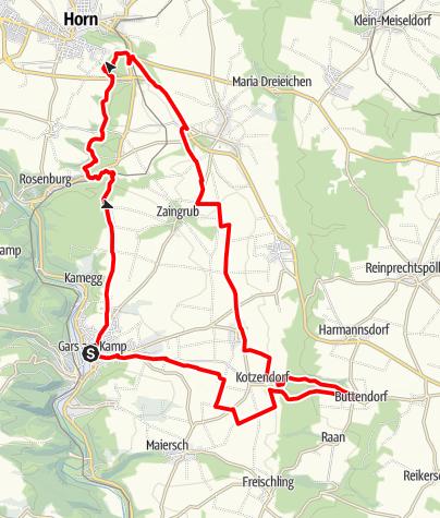 Mapa / Bioweg
