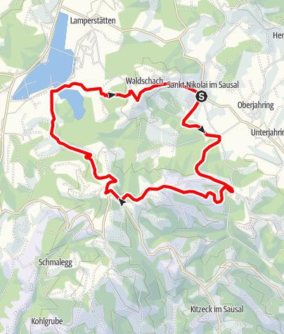 Karte / St. Nikolaier Buschenschanktour