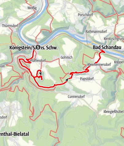 Karte / Zur Barbarine