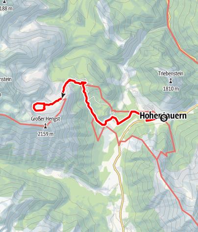 Karte / Großer Scheiblsee