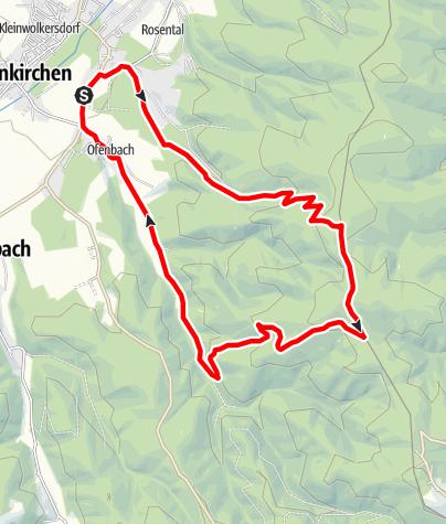 Karte / Rosalien-Tour