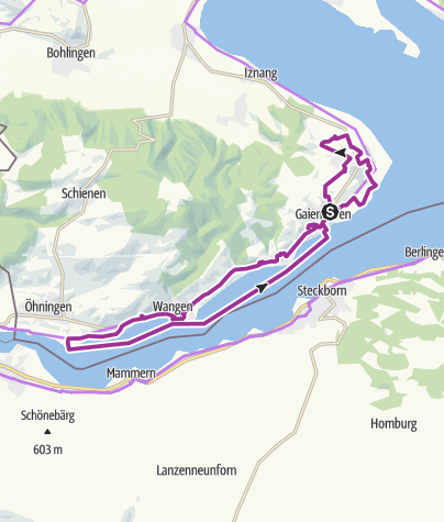 Karte / Garten-Rendezvous auf der Halbinsel Höri
