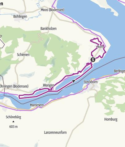 Map / Garten-Rendezvous auf der Halbinsel Höri
